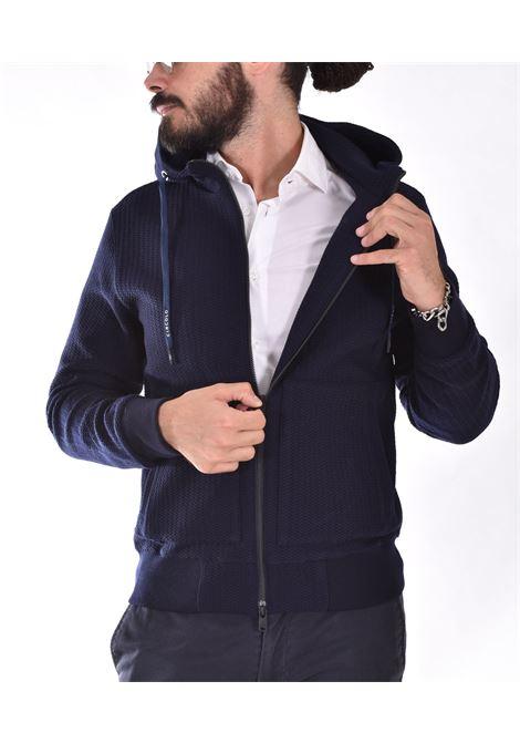 Circolo 1901 blue fleece wool jacket CIRCOLO 1901 | CN3292001