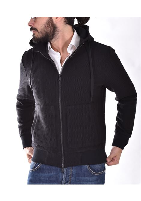 Circolo 1901 black wool fleece jacket CIRCOLO 1901 | CN3292274