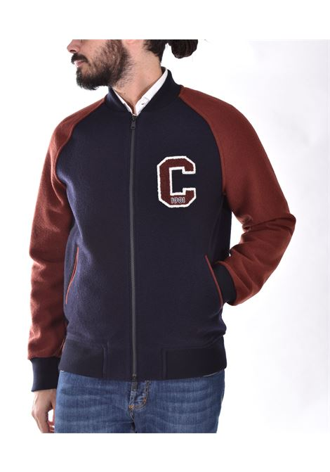 Circolo 1901 blue American college bomber jacket CIRCOLO 1901 | CN330210