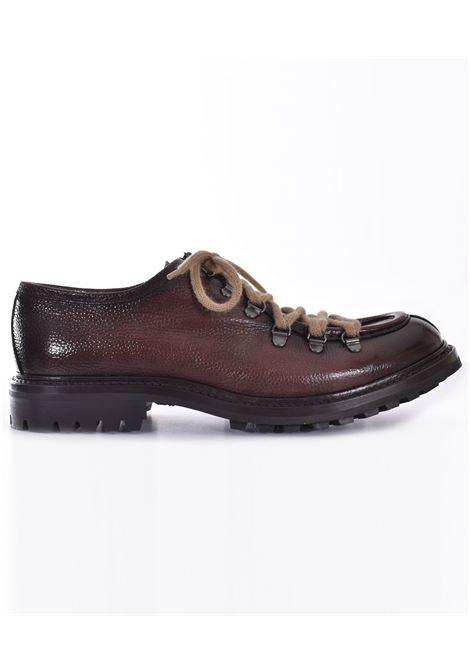 Claudio Marini paraboot shoes in dark brown leather CLAUDIO MARINI | 824701