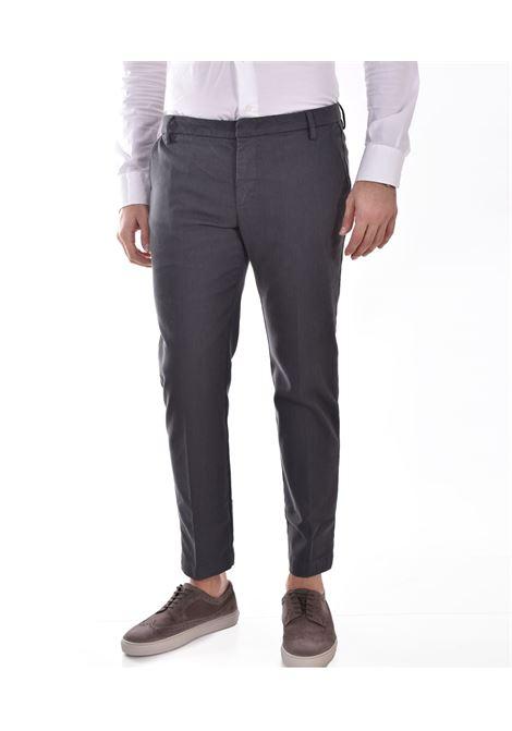 Pantalone Entre Amis microfantasia grigio ENTRE AMIS | 81882069L1701
