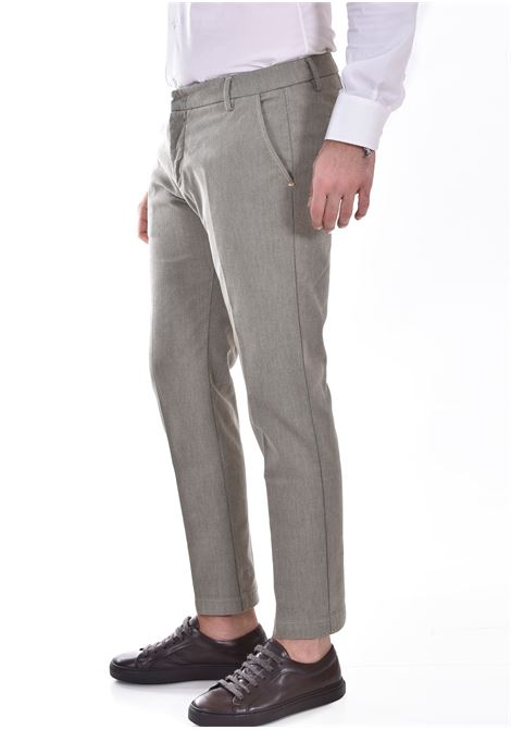 Entre Amis trousers in hazelnut micro-pattern ENTRE AMIS | 81882069L1702