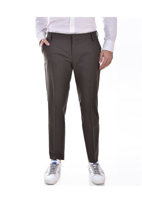 Entre Amis green wool trousers ENTRE AMIS | 818843004