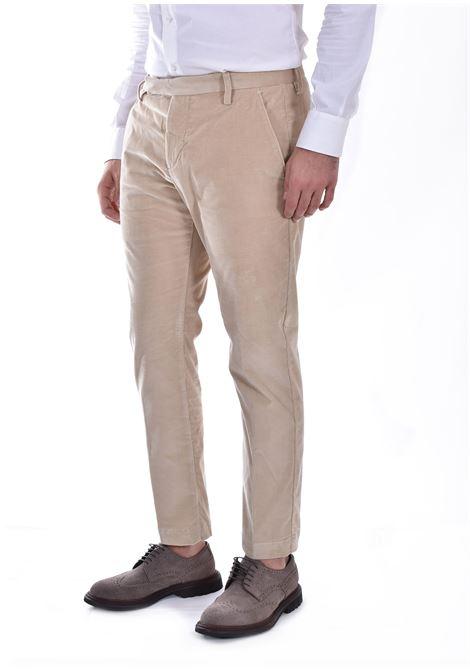 Entre Amis hazelnut velvet trousers ENTRE AMIS | 8345179401