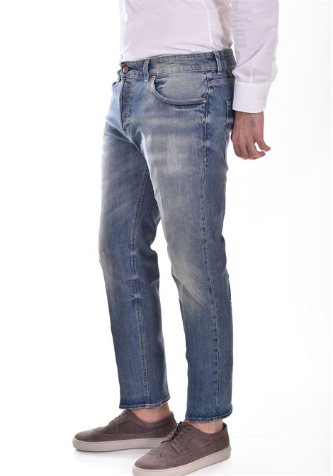 Entre Amis gaga 5 sandblasted jeans ENTRE AMIS | GAGA1967L9011