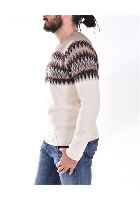 Maglione Gran Sasso beige bianco fantasia GRAN SASSO | 2319031904005