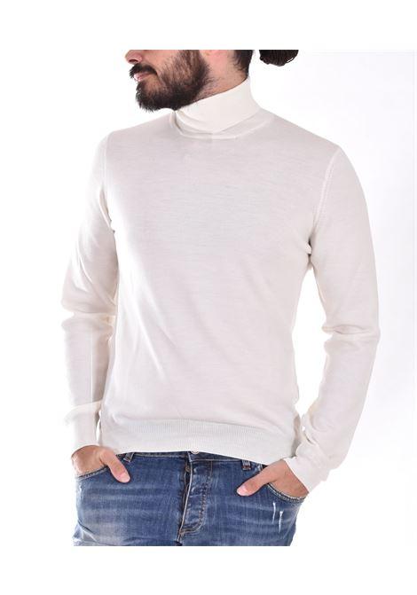 Maglia Gran Sasso collo alto merinos extrafine bianco GRAN SASSO | 55157005