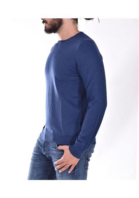 Maglia Gran Sasso merinos extrafine blu chiaro GRAN SASSO | 5516714290589