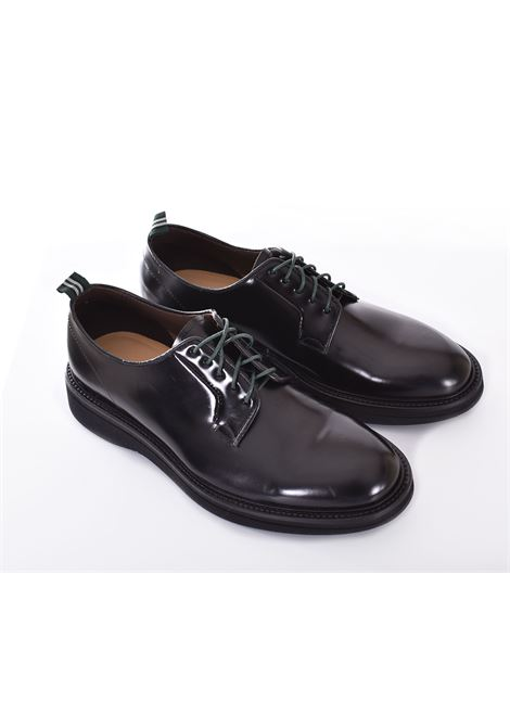 Green George derby shoes polished black GREEN GEORGE | 202299