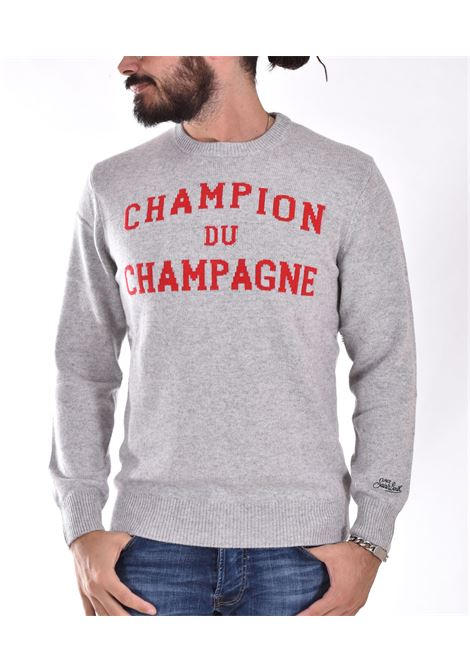 Maglia MC2 champion champagne grigio MC2 SAINT BARTH | CMC54