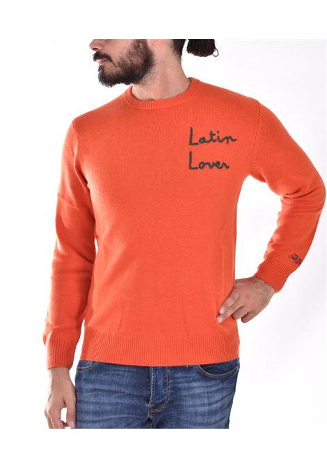 MC2 flirting latin lover orange sweater MC2 SAINT BARTH | EBFL81