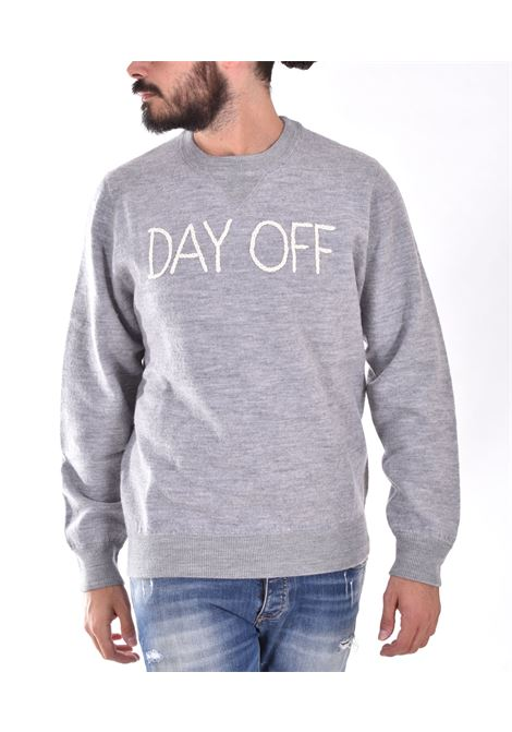 MC2 gray day off sweatshirt MC2 SAINT BARTH | EMDO15