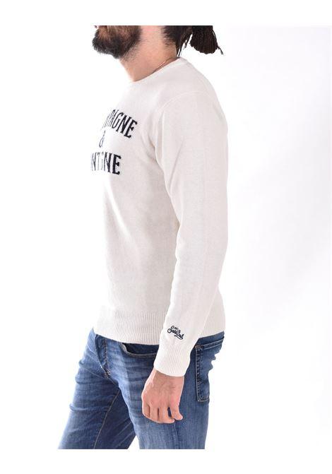 MC2 monchamp white sweater MC2 SAINT BARTH | MNC32I10