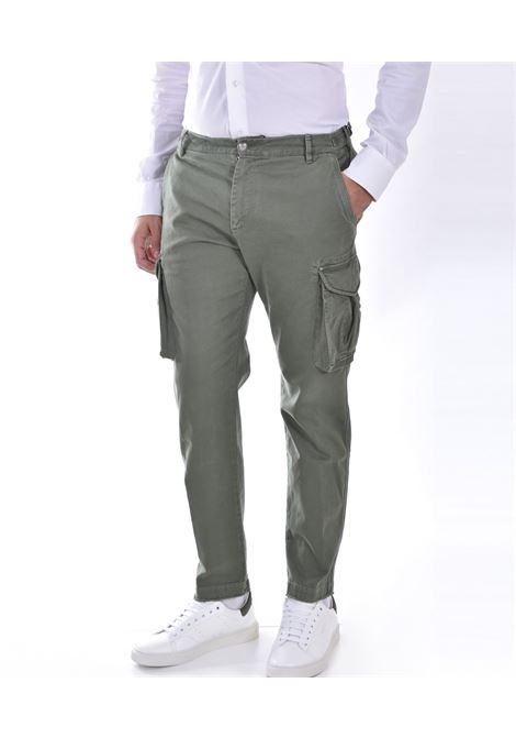Officina 36 cargo green trousers mark OFFICINA 36 | 02728T845301