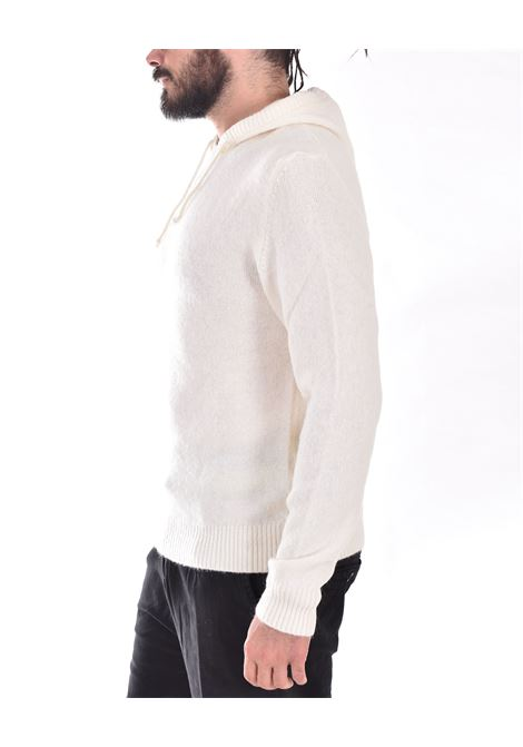 Officina 36 white hooded sweatshirt OFFICINA 36 | CULM11301