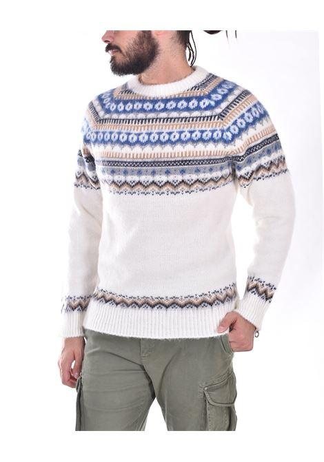 Officina 36 cream white sweater OFFICINA 36 | CUNS6901