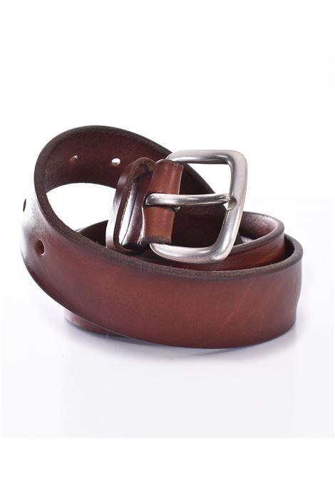 Cintura Orciani bull soft marrone bruciato ORCIANI | U0762415