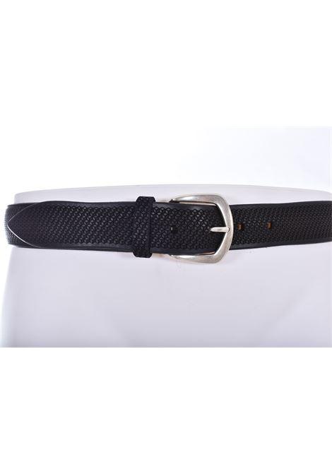 Cintura Orciani bull soft incisioni nera ORCIANI | U0805199