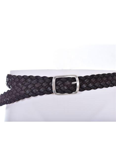 Cintura Orciani intrecciata marrone ORCIANI | U0805220