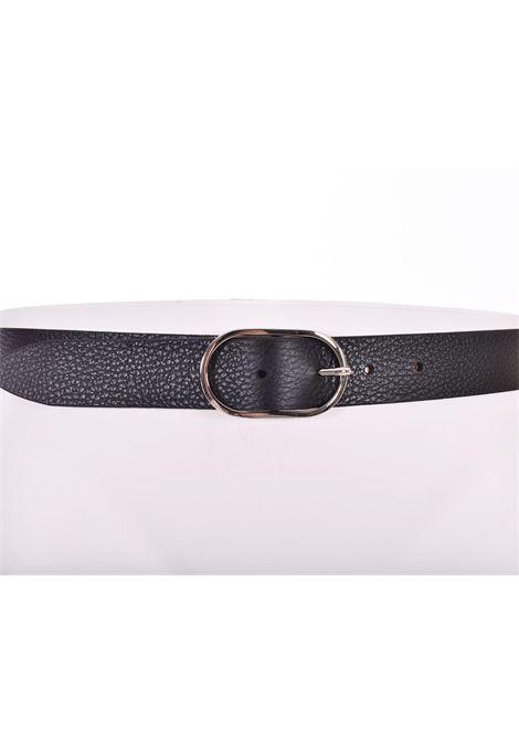 Cintura Orciani dollaro nero micron ORCIANI | U793899