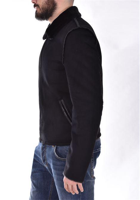 Patrizia Pepe black sheepskin jacket PATRIZIA PEPE | 5L0258A9X9K102