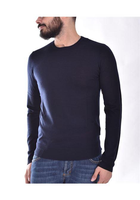 Patrizia Pepe blue crew neck sweater PATRIZIA PEPE | M1250A124C660