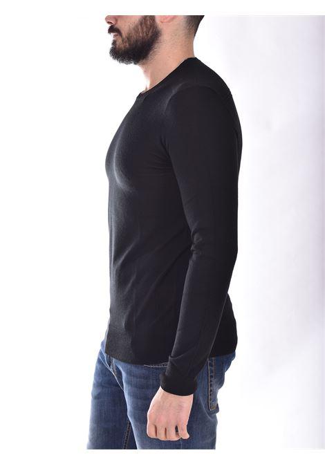 Patrizia Pepe black crewneck sweater PATRIZIA PEPE | M1250A124K102