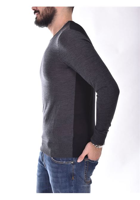 Patrizia Pepe two-tone gray black sweater PATRIZIA PEPE | M1311A9T0J4P5