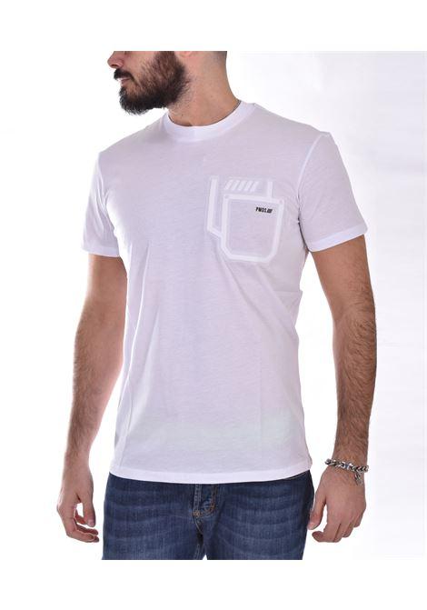 T shirt PMDS logo tropez bianca PMDS | 720TS01