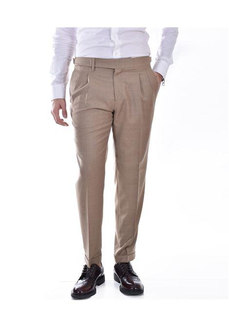 Quattro.decimi pleats beige trousers Quattro.Decimi | 421120033