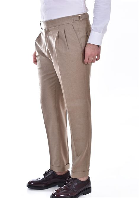 Pantalone Quattro.decimi pinces beige Quattro.Decimi | 421120033