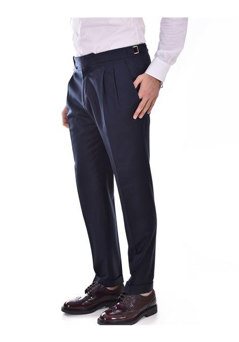 Quattro.decimi blue pleats trousers Quattro.Decimi | 421123011