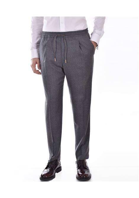Quattro.decimi gray elastic trousers Quattro.Decimi | 42112901