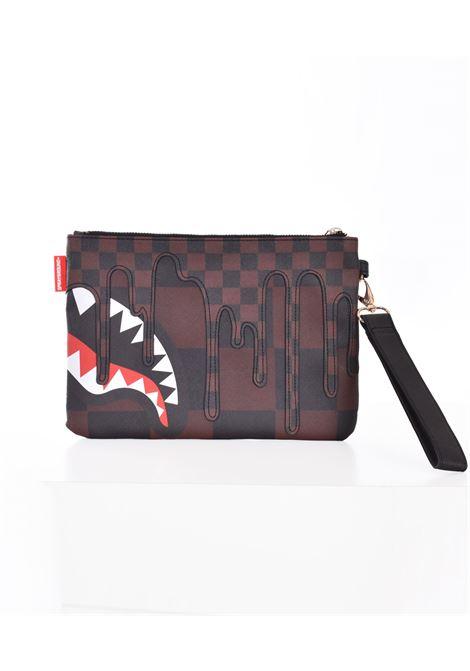 Sprayground sharks in paris clutch bag SPRAYGROUND | B393201