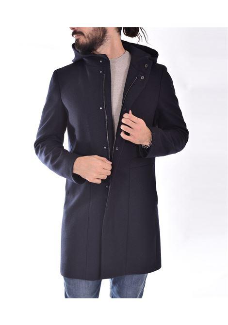 Cappotto Tagliatore montgomery blu clift TAGLIATORE | 440003B3218