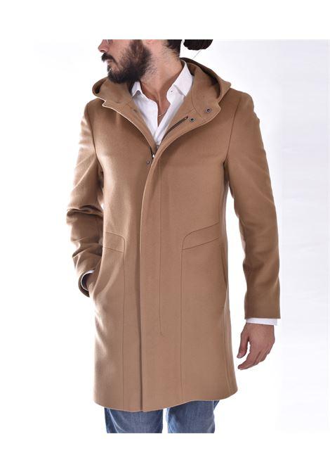 Cappotto Tagliatore montgomery cappuccio beige clift TAGLIATORE | A50017A3289