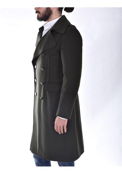 Cappotto Tagliatore lungo doppiopetto verde C Avatar TAGLIATORE | C-AVATARV1248