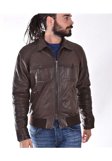 Brown David Tagliatore jacket TAGLIATORE | DAVIDMDI21-VG01