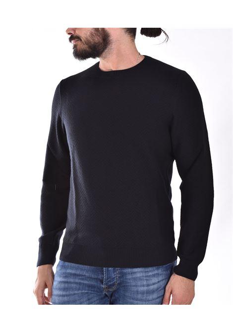 Sweater Tagliatore zigzag black mglla TAGLIATORE | MGLLA547099