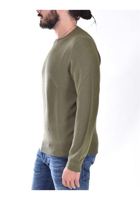 Sweater Tagliatore zigzag green mglla TAGLIATORE | MGLLA547443