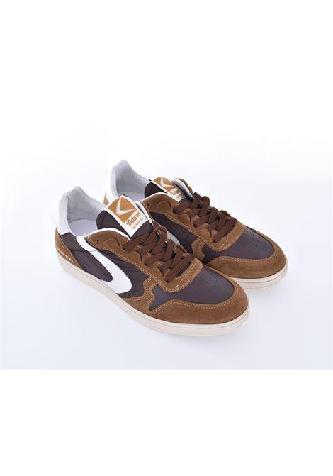 Scarpe Sneakers Valsport Super Davis Mix marrone VALSPORT | VSDN02M02