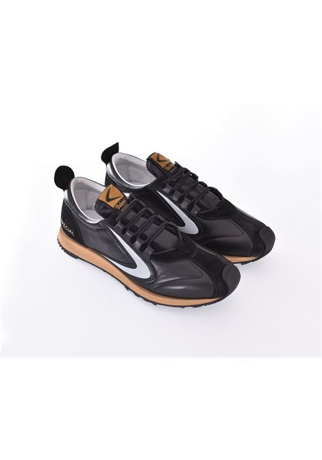 Scarpe Sneakers Valsport Special Pelle nero VALSPORT | VSP01M01