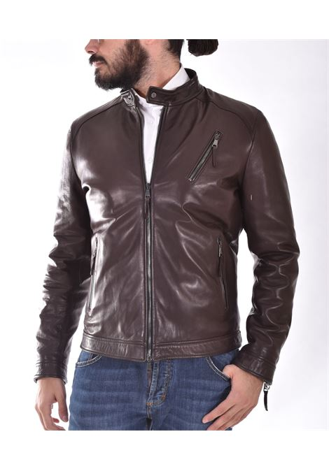 Volfagli Mosca strong dark brown jacket Volfagli | MOSCA01