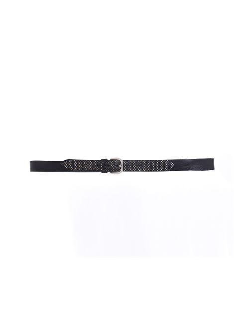 Cintura Alberto Luti nera borchie ALBERTO LUTI | 802/301