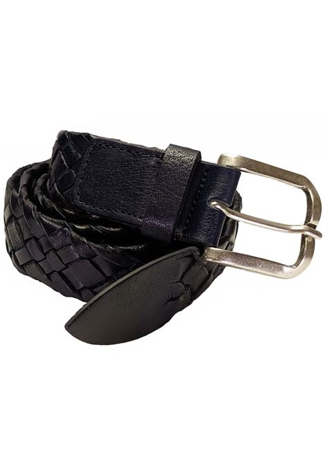 Blue belt braided ANDREA D'AMICO | Belts | ACU2717539