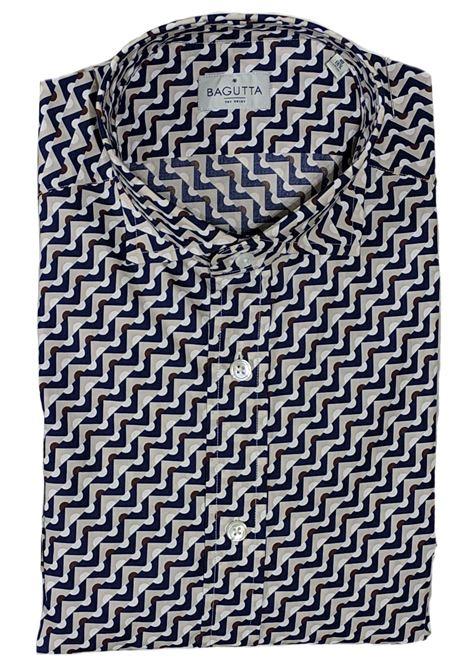 Bagutta patterned shirt BAGUTTA | Shirts | 10070650