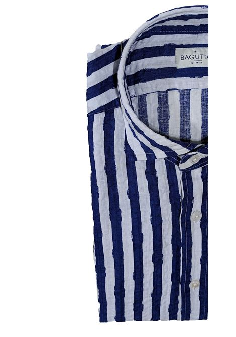 Blue andrea ebl linen shirt BAGUTTA   Shirts   10073250