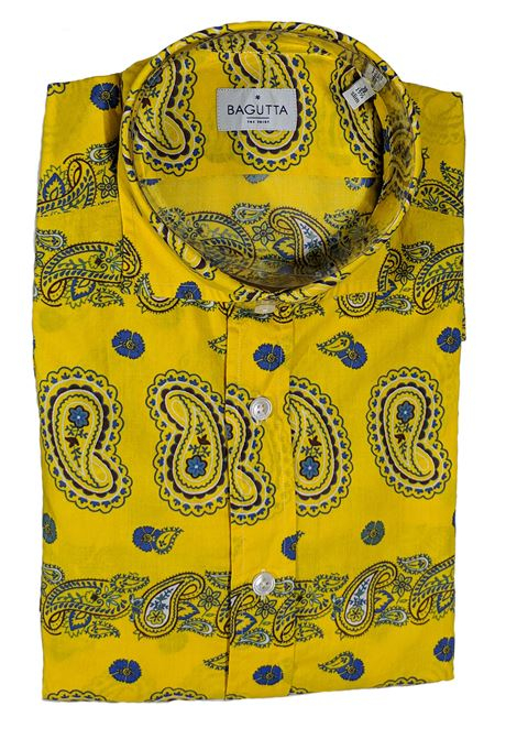 Yellow men's shirt BAGUTTA | Shirts | 10074621