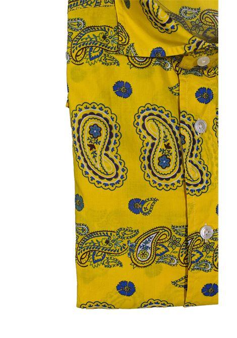 Yellow men's shirt BAGUTTA | Shirts | 10074621
