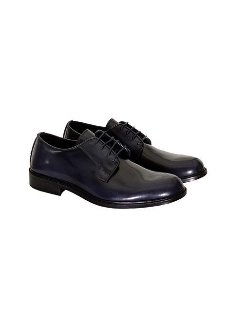 Blue derby shoes BARBATI | Shoes | B021111